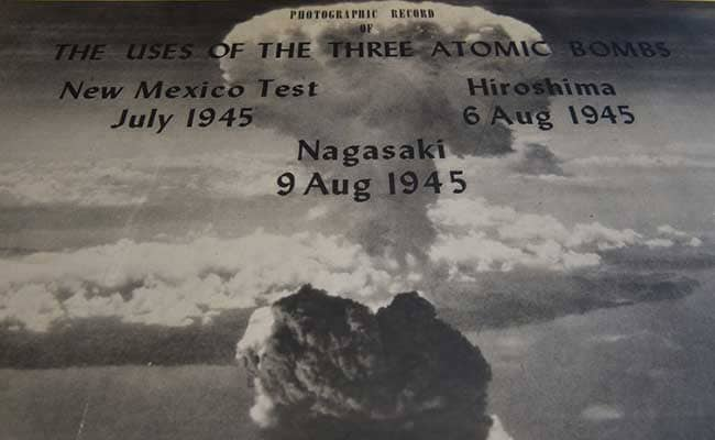 essay atomic bomb 1945