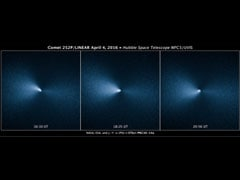 Hubble Captured Rare Images Of A Comet's Close Encounter With Earth