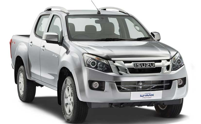 isuzu d max v cross launched at rs lakh ndtv carandbike. Black Bedroom Furniture Sets. Home Design Ideas