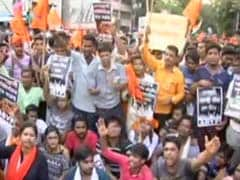 Jadavpur University On The Edge As ABVP Holds Protest
