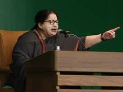 Tamil Nadu Chief Minister Jayalalithaa Hits Out At DMK-Congress Alliance