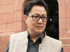 BJP Workers Click Selfies In Kiren Rijiju's Chopper, Probe Ordered