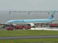 कोरियाई एयरलाइन के प्लेन में लगी आग, 300 यात्री बाल-बाल बचे
