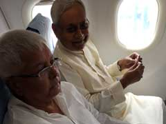 Not Backing 'Bihar's Daughter' A 'Historic Blunder': Lalu To Nitish Kumar