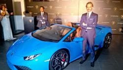 Lamborghini Huracan Spyder LP 610-4 Launched in India; Priced at Rs. 3.89 Crore
