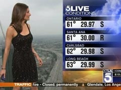 'Sweatergate': Bare-Shouldered Female Meteorologist Handed Cover-Up Cardigan On Air, Twitter Erupts