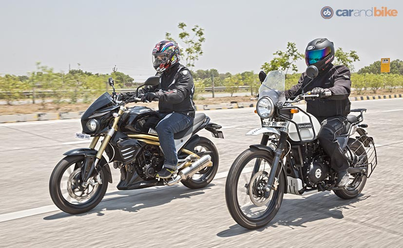 Royal Enfield Himalayan Vs Mahindra Mojo Comparison Review