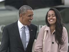 अमेरिकी राष्ट्रपति बराक ओबामा की बेटी मालिया सिगरेट पीते पकड़ी गई