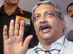 Manohar Parrikar Says Encounters Have Increased In Jammu And Kashmir