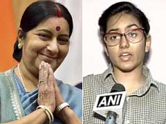 Sushma Swaraj Assures Help To Pak Girl Wanting To Become Doctor