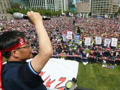 Tens Of Thousands Join May Day Rally In South Korea