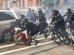 Protesters Arrested, Police Hurt At US May Day Protest