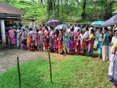 44 Percent Voting Till 1 Pm In Meghalaya