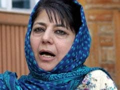 Kashmir Unrest Was 'Pre-Planned', Only Handful Involved, Says Mehbooba Mufti