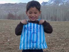 Threats Force Afghanistan Boy, Fan Of Messi, To Leave The Country