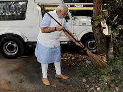 Centre Ropes In Over 58 Lakh Pensioners For Success Of PM Modi's Swachh Bharat Abhiyan