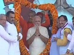 'I Am An Uttar Pradesh-Wala,' Says PM Modi Flagging Off Election Battle