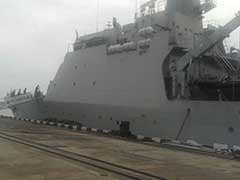 Indian Naval Ships Rush Relief Material To Cyclone-Hit Sri Lanka
