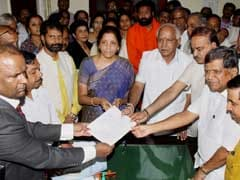Nirmala Sitharaman Files Nomination, Says She Will Learn Kannada