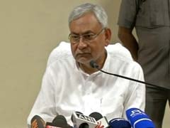 Nitish Kumar Takes Stock Of Flood Damage In Gopalganj