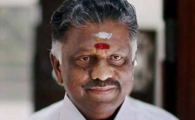 Tamil Nadu Will Be Declared Drought Hit: Chief Minister Panneerselvam