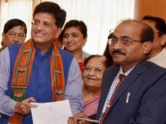 BJP Nominates Piyush Goyal From Maharashtra For Rajya Sabha Election