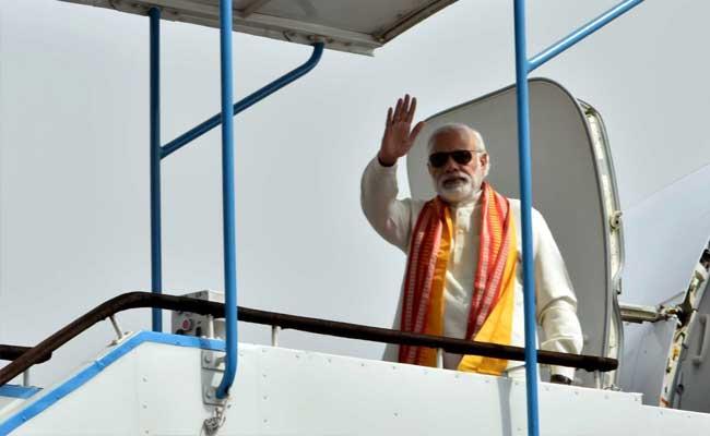 PM Narendra Modi Arrives In Iran