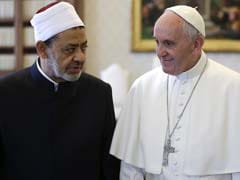 Pope Francis And Top Imam Embrace In Historic Meeting At Vatican