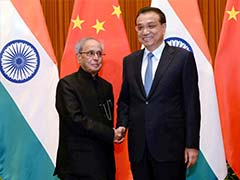 Pranab Mukherjee Recalls Indian Support To China's UN Membership