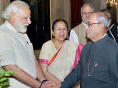 President Pranab Mukherjee Begins 4-Day China Visit