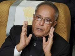 President Pranab Mukherjee's Kedarnath Visit Cancelled Due To Bad Weather