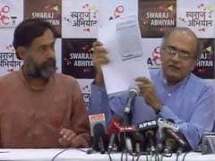 Swaraj India Files Application For Registration With Election Commission