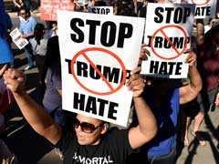 Donald Trump's San Diego Rally Draws More Than 1,000 Chanting Protesters