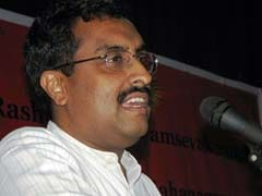 BJP Leader Ram Madhav Favours Non-Lethal Way To Tackle Kashmir Crisis
