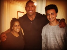 Arpita Khan's Fan Moment: Meeting Priyanka's Baywatch Co-Star The Rock