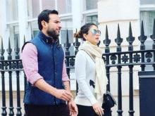 Pics From Saif Ali Khan And Kareena Kapoor's London Holiday