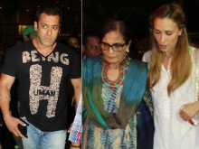 Salman Khan's Airport Entourage Included Iulia Vantur