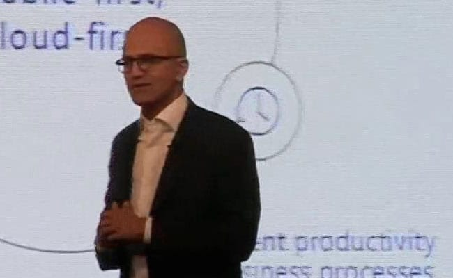 Satya Nadella sees future in digital media