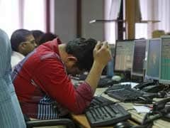 Sensex Ends Lower; SBI Up 4.1%