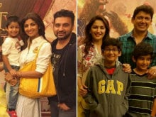 How Shilpa Shetty and Madhuri Dixit Celebrated Mother's Day