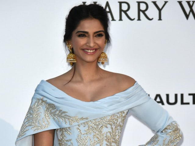Sonam Kapoor's amfAR Gala Dress is Ralph & Russo