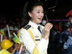 China Military Singer Performs On South China Sea Island