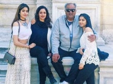 Sridevi's Holiday Photos With Family Will Give You Major Vacation Goals