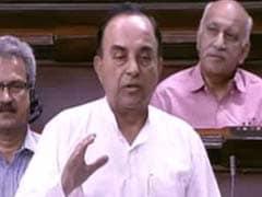 Subramanian Swamy Now Targets Economic Affairs Secretary, Makes Light Of Arun Jaitley