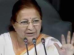 Sumitra Mahajan Concerned Over Use Of Unparliamentary Words By Lawmakers