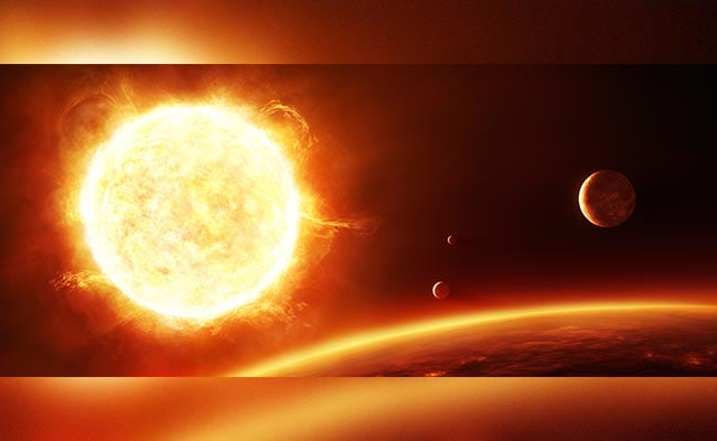 A Violent Sun And A Sky Full Of Laughing Gas Could Have Led To Life On Earth