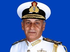 Navy Chief Sunil Lanba Leaves On A 4-Day Visit To Myanmar