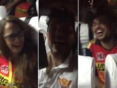 Yuvraj's Video Shows How Team Sunrisers Celebrated Their Big IPL Win