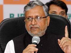 Sushil Modi Hits Out At Nitish Kumar Government Over Rising Crime