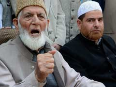 Centre Starting 'Farce Of Engagement', Says Separatist Syed Ali Shah